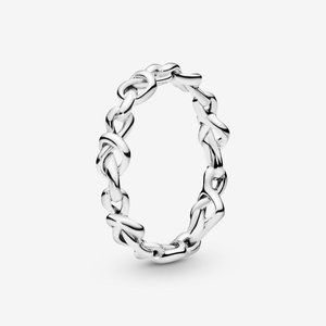 🔥PANDORA Knotted Hearts Ring